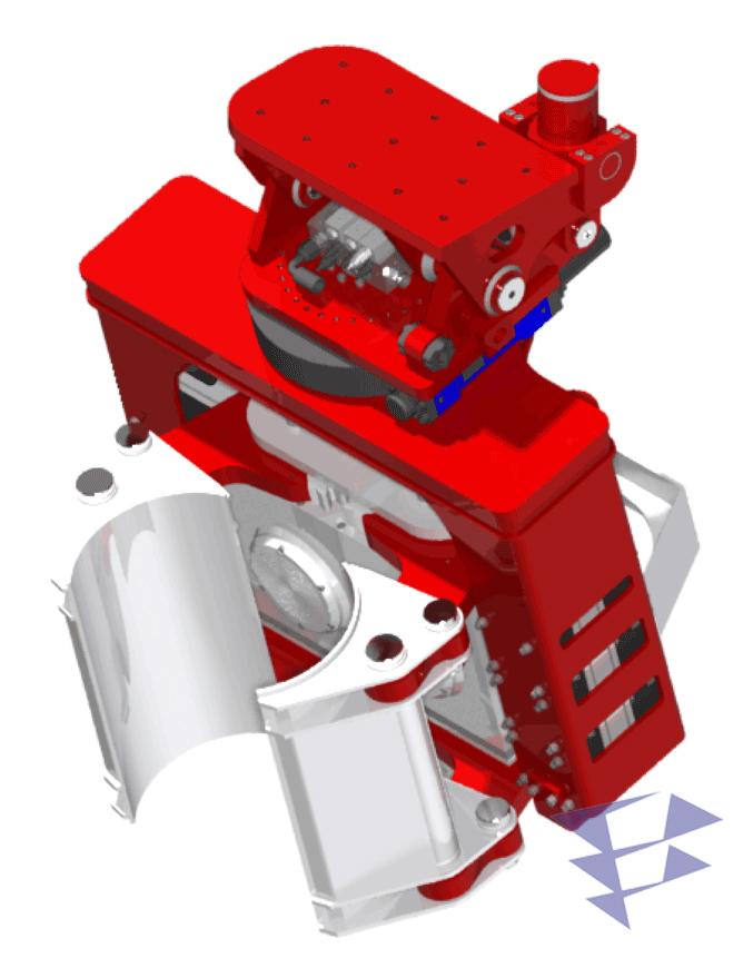 Экскаваторный вибропогружатель OVR 70SG с боковым захватом