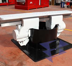 Гидравлические зажимы для погружения и извлечения труб различного диаметра серии KCN