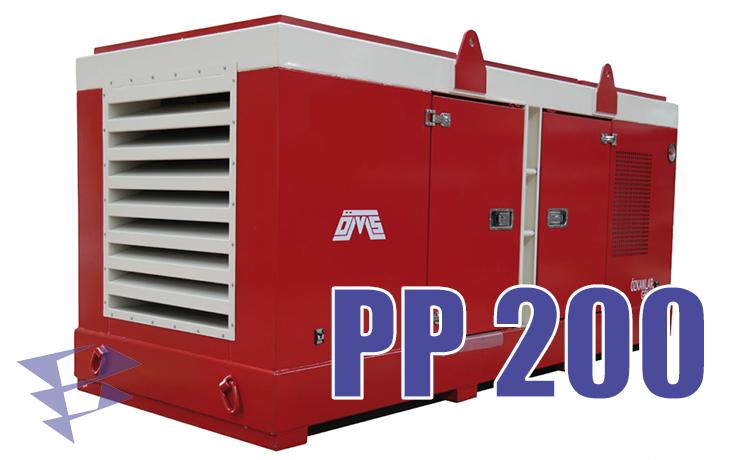 Силовой блок PP 200 компании Ozkanlar