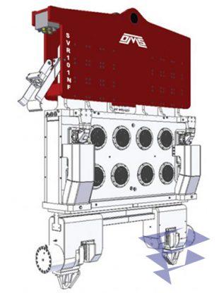 Иллюстрация к вибропогружателю нормальной частоты SVR 101 NF