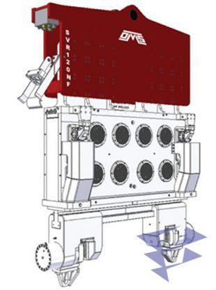 Иллюстрация к вибропогружателю нормальной частоты SVR 120 NF