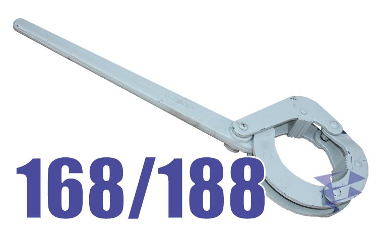 Иллюстрация к буровому ключу КШС 168/188 мм