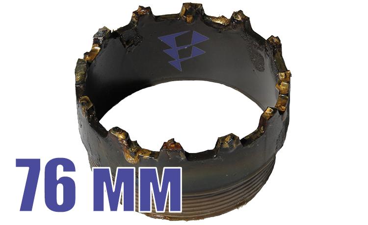 Иллюстрация к резцовой коронке серии СМ-9 76 мм