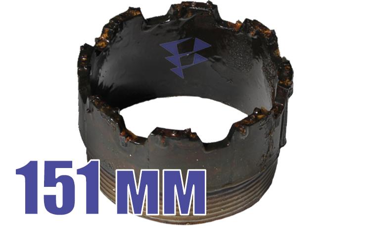 Иллюстрация к резцовым коронкам серии СМ 151 мм
