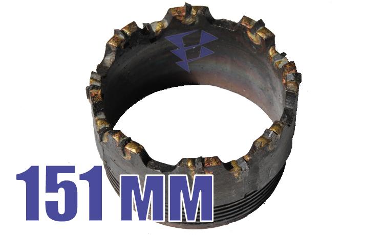 Иллюстрация к резцовым коронкам серии СМ-9 151 мм