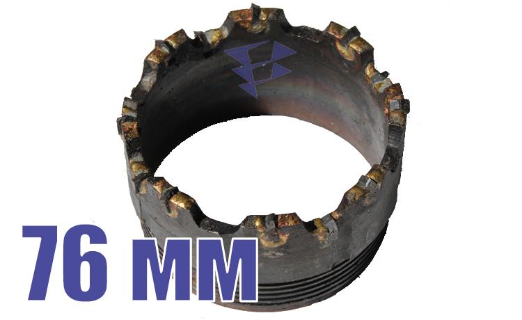 Иллюстрация к резцовым коронкам серии СМ-9 76 мм