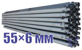 Иллюстрация к трубе стальной бурильной универсальной 55х6 мм
