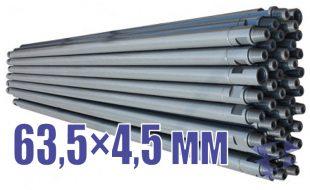 Иллюстрация к трубе стальной бурильной универсальной 63,5х4,5 мм