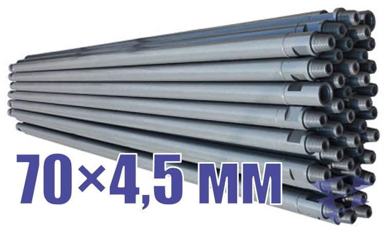 Иллюстрация к трубе стальной бурильной универсальной 70х4,5 мм