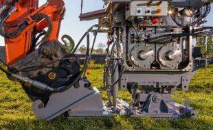 Иллюстрация к системе зондирования грунта с установкой на экскаватор