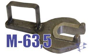 Иллюстрация к ключу РТ-1200 М-63,5 для сборки и разборки буровой колонны при выполнении СПО