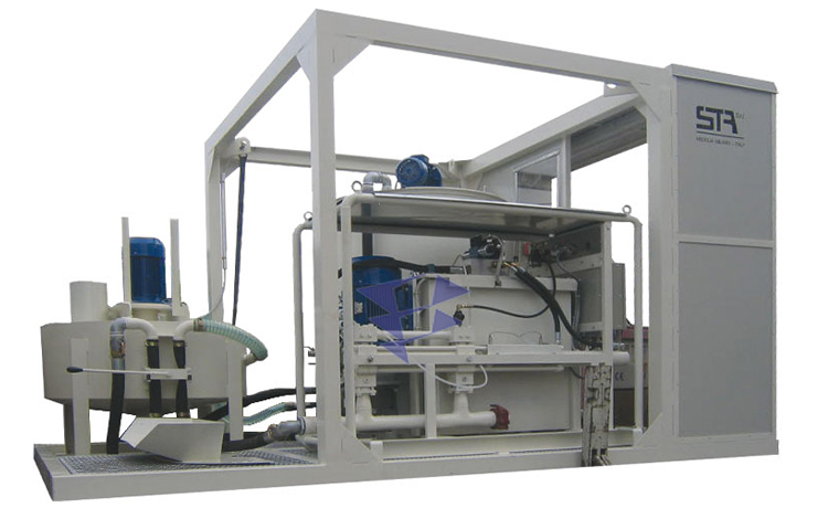 Иллюстрация к смесительно-цементационному комплексу STA 10M3 T20
