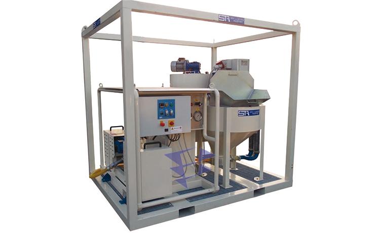 Иллюстрация к смесительно цементационному комплексу STA 5M3 T10