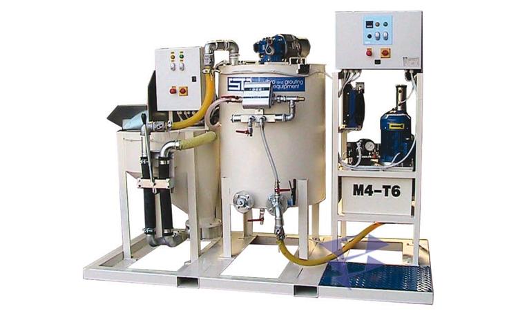 Иллюстрация к смесительно цементационному комплексу STA 5M3 T6