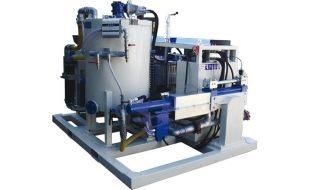 Иллюстрация к смесительно цементационному комплексу STA 5M3 T20 с дизельным приводом