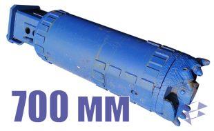 Ковшебур для бурения с поднятием керна, 700 мм