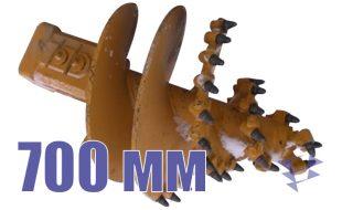 Скальный шнек, 700 мм