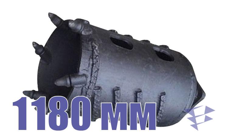 Колонковый бур, 1 180 мм