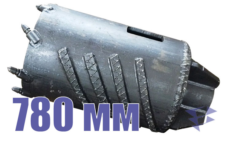 Колонковый бур, 780 мм