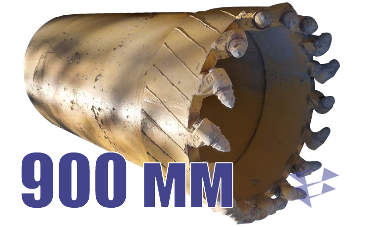 Колонковый бур, 900 мм