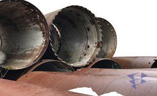Обсадная труба для бурильных работ, 1 500 мм