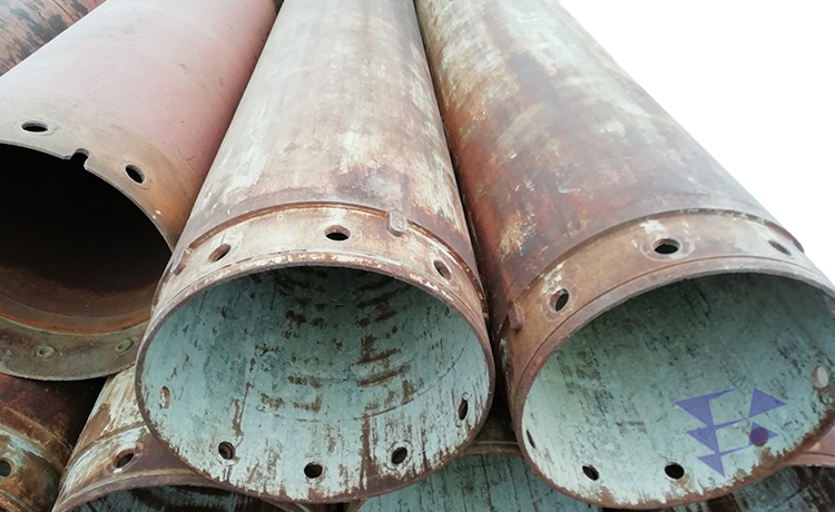 Обсадная труба для бурильных работ, 800 мм