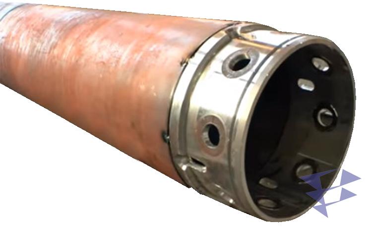 Обсадная труба для бурильных работ, 750 мм