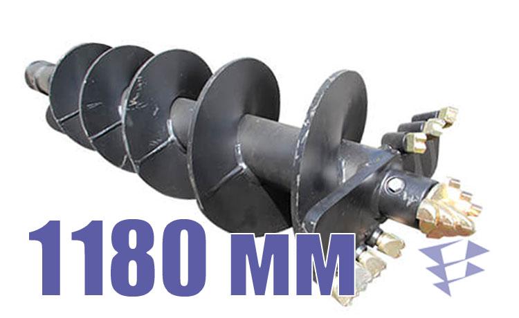 Шнек для свайных работ, 1 180 мм
