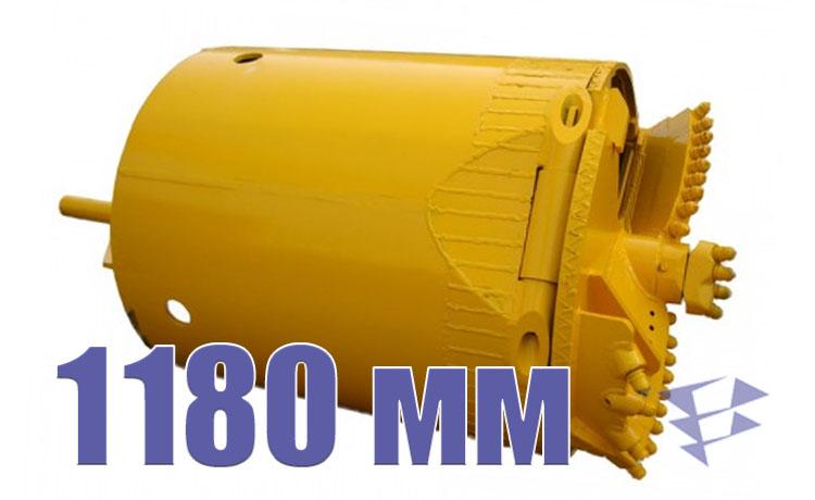 Скальный ковшебур, 1 180 мм